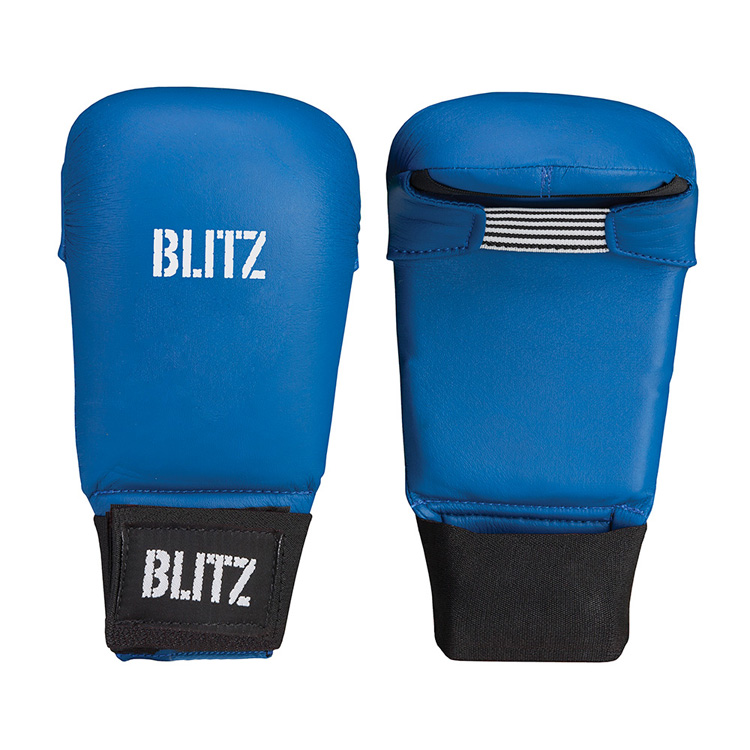 Blitz PU Elite Mitt Blue