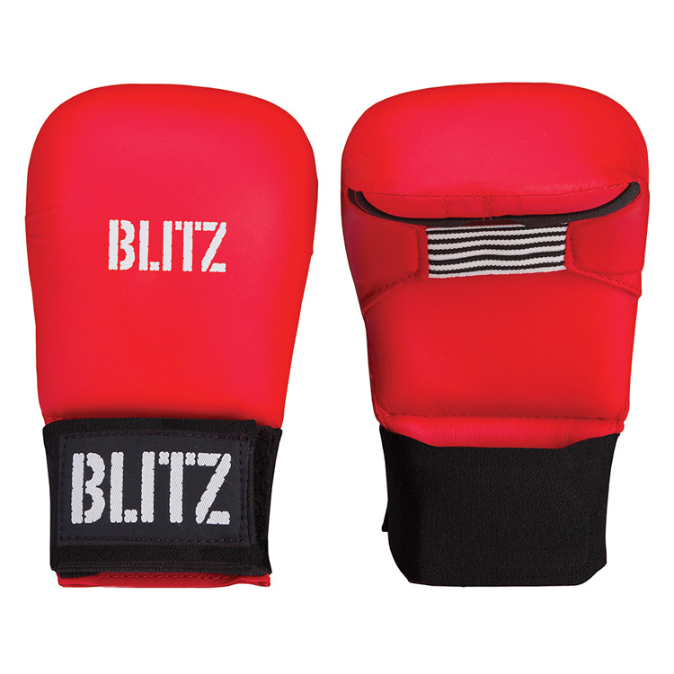 Blitz PU Elite Mitt Red