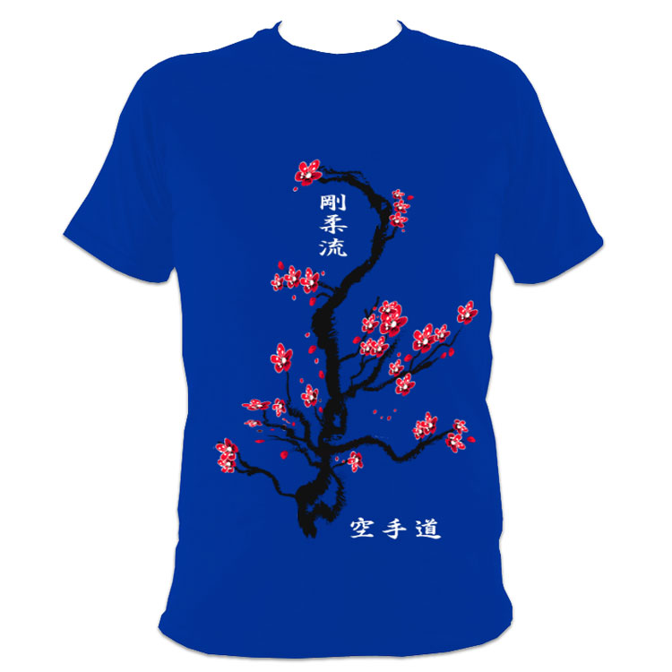 Cherry Blossom Fighter T-Shirt